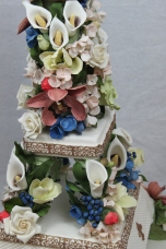 Eiffel Tower of Sugar Flowers